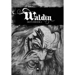 Waldin 2 sketchbook