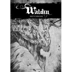 Waldin 3 sketchbook